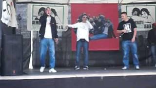Cooler Hip Hop - Rap aus Berlin - Part 1 - am Brandenburger Tor - 1.5.2010