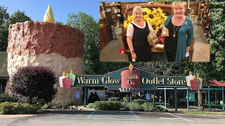 Let's go inside Warm Glow Candle Company!