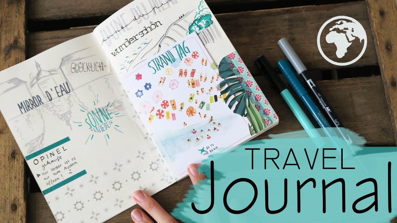 TRAVEL JOURNAL - wie fhre ich mein Reisetagebuch? / Teil ...