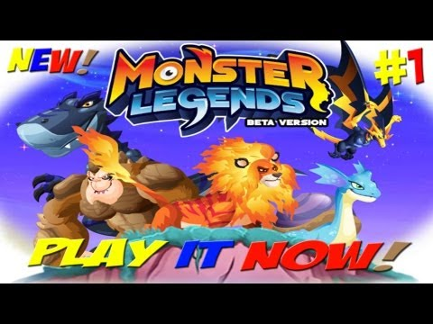 Monster Legends - Episode #1 (NEW GAME)