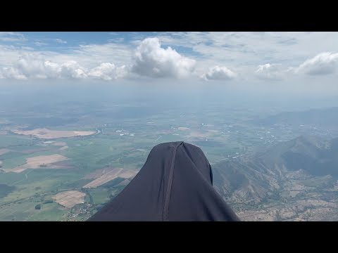 Paragliding Colombia 109 Km Triangle - IPhone Video
