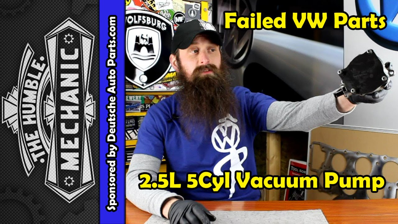 How The Vw 25l Vacuum Pump Fails Video Youtube Fuel Fuse Location For 1993 Golf
