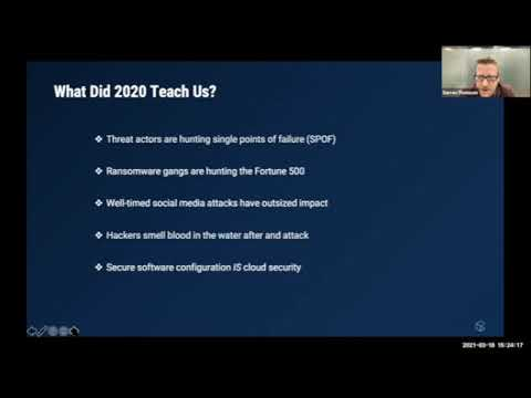 Foresight 2021 - Global Threat Briefing by Darren Thomson
