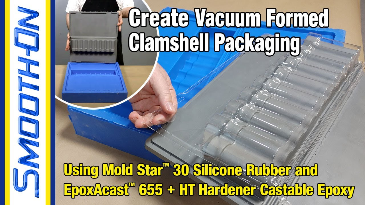How Vacuum Formed Packaging Is Made Using a High Temp Epoxy Tool