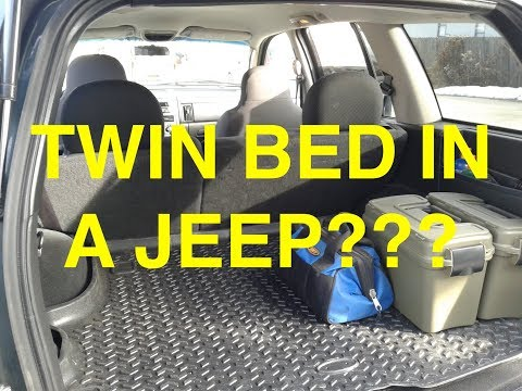 Twin Bed In Jeep Wj Youtube