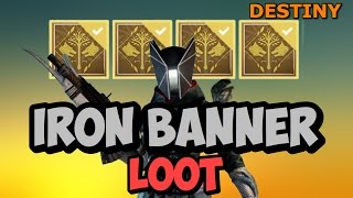 destiny iron banner loot bug rang 3 et 5