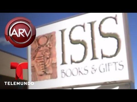 Vandalizan una librería que lleva por nombre ISIS en Englewood, Colorado | Al Rojo Vivo | Telemundo
