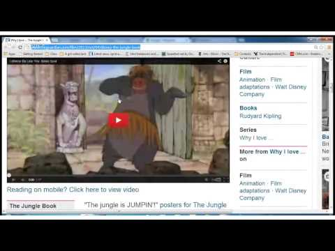 Why I love ... The Jungle Book's scat-singing Baloo the bear