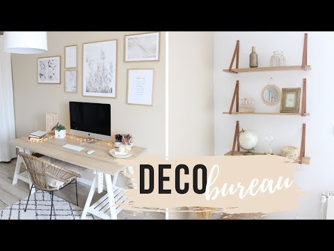 Je décore mon bureau - room tour