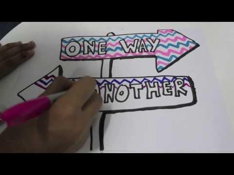 DIY lyric art!