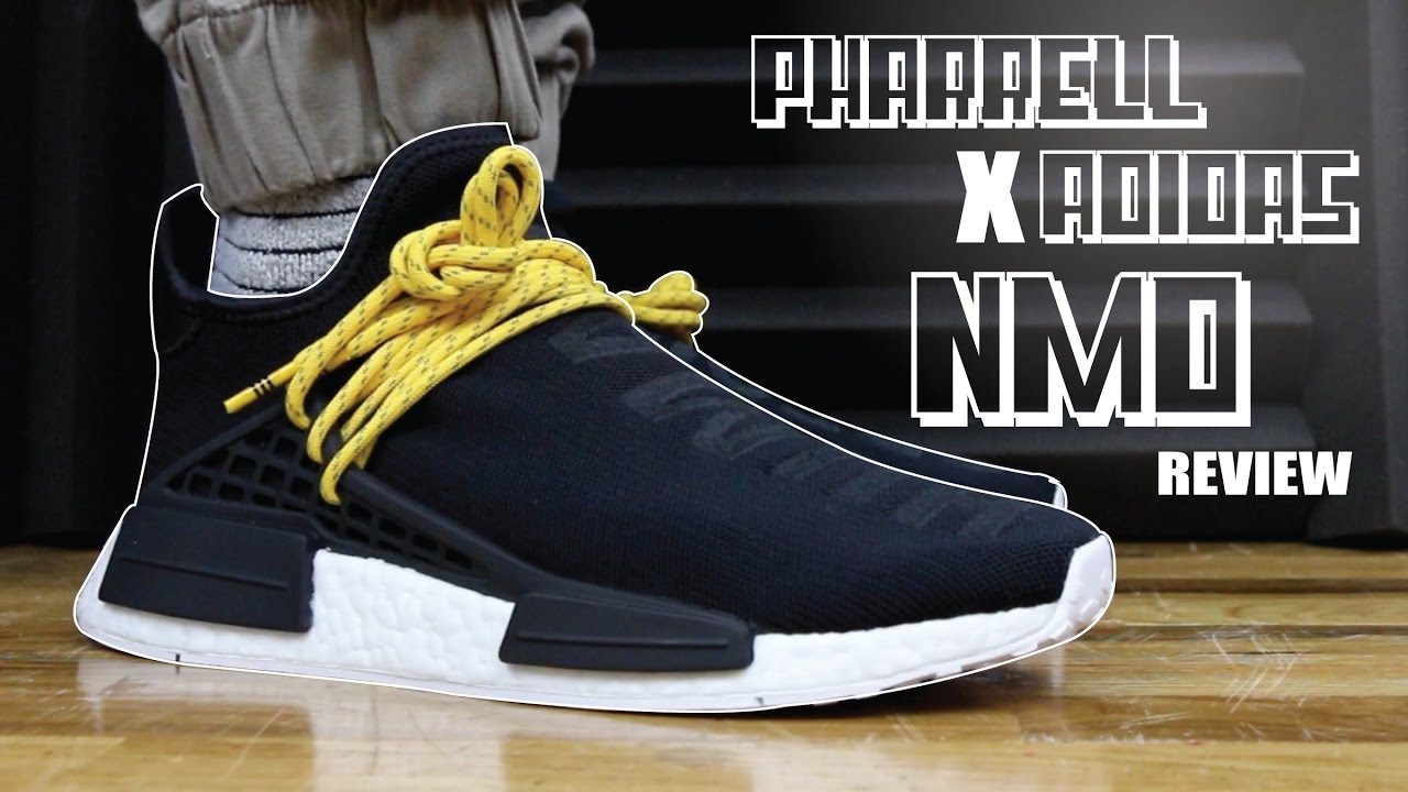 buy online 37837 4d464 PHARRELL X ADIDAS NMD HUMAN RACE REVIEW