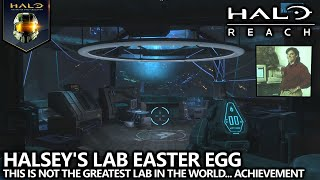 Halo Reach - Halsey's Lab Easter Egg - This is Not the Greatest Lab in the World… Achievement Guide