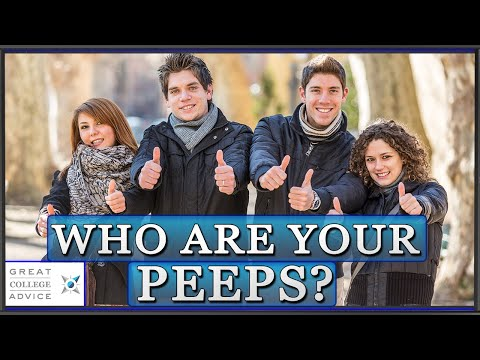 College Admissions Counselor on Campus Culture: Who Are Your Peeps?