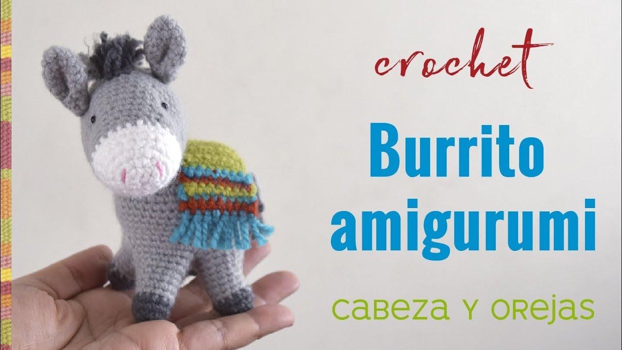Burrito sabanero amigurumi (crochet) Parte 1 / Tejiendo Perú - YouTube