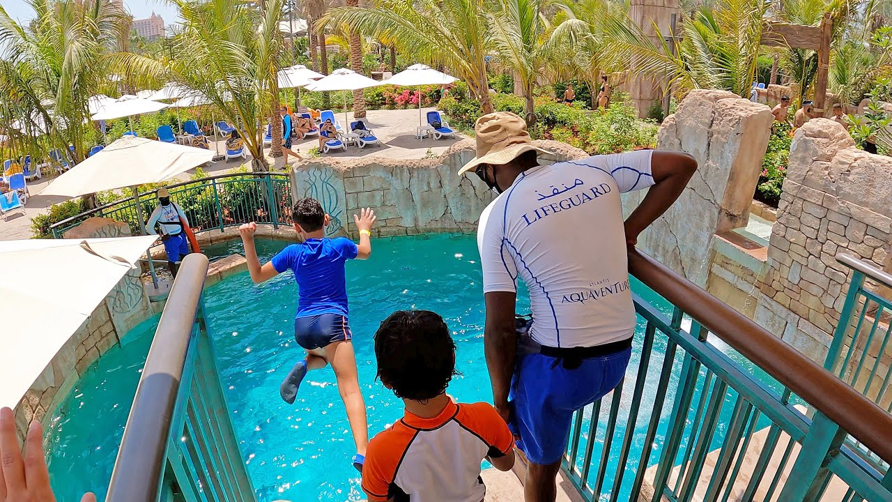 Immortal Jump at Aquaventure Atlantis Dubai