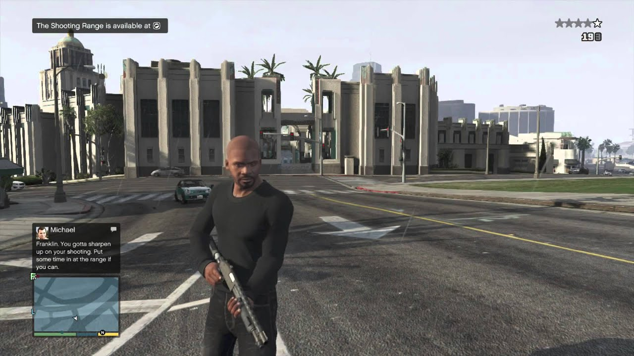 GTA 5 Lower Wanted Level Cheat Demo - YouTube