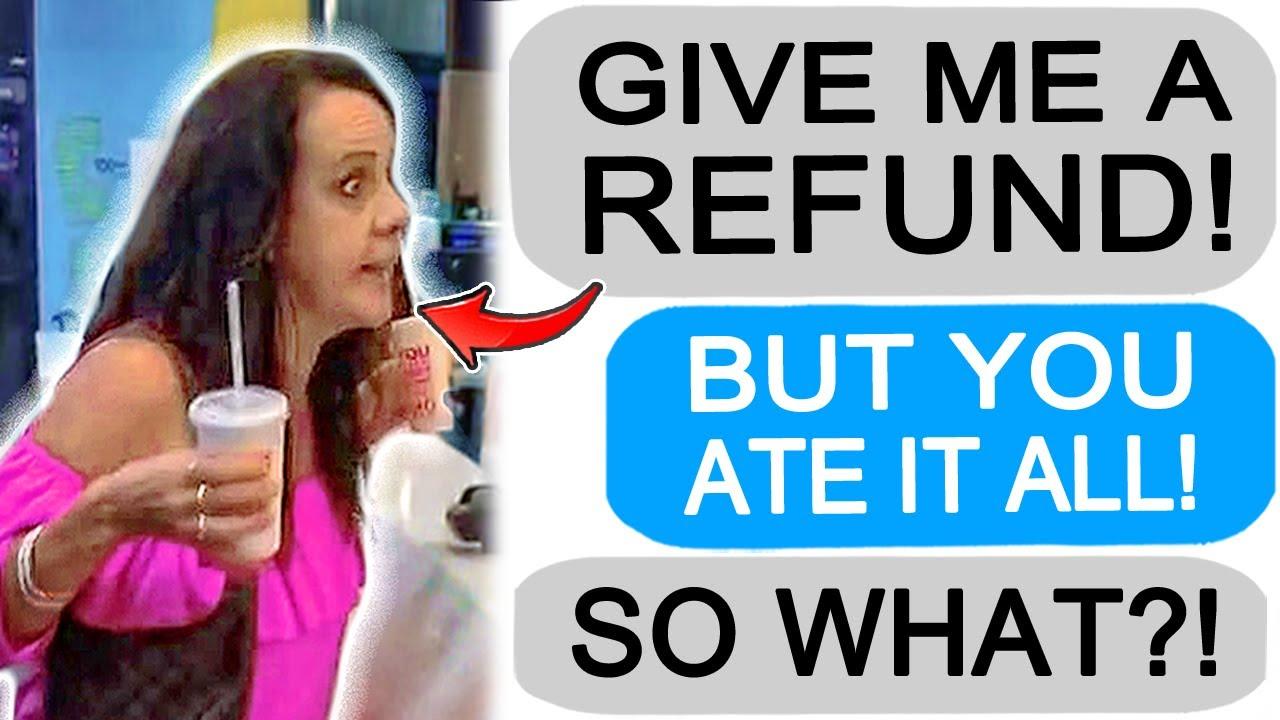 r/Entitledparents Karen Returns 150 pcs of Fried Chicken!