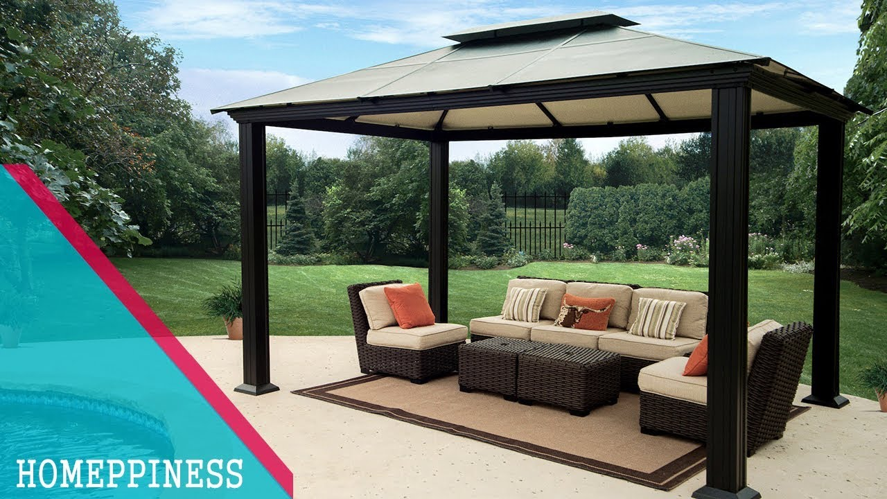 💗 ideas for home 💗 50+ amazing metal gazebo design ideas you'll love