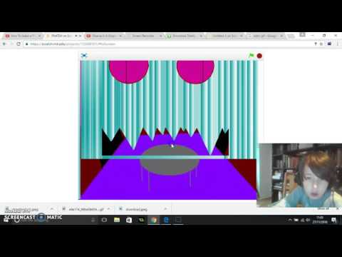 How to make a fnaf game on scratch! #1 How to make the menu