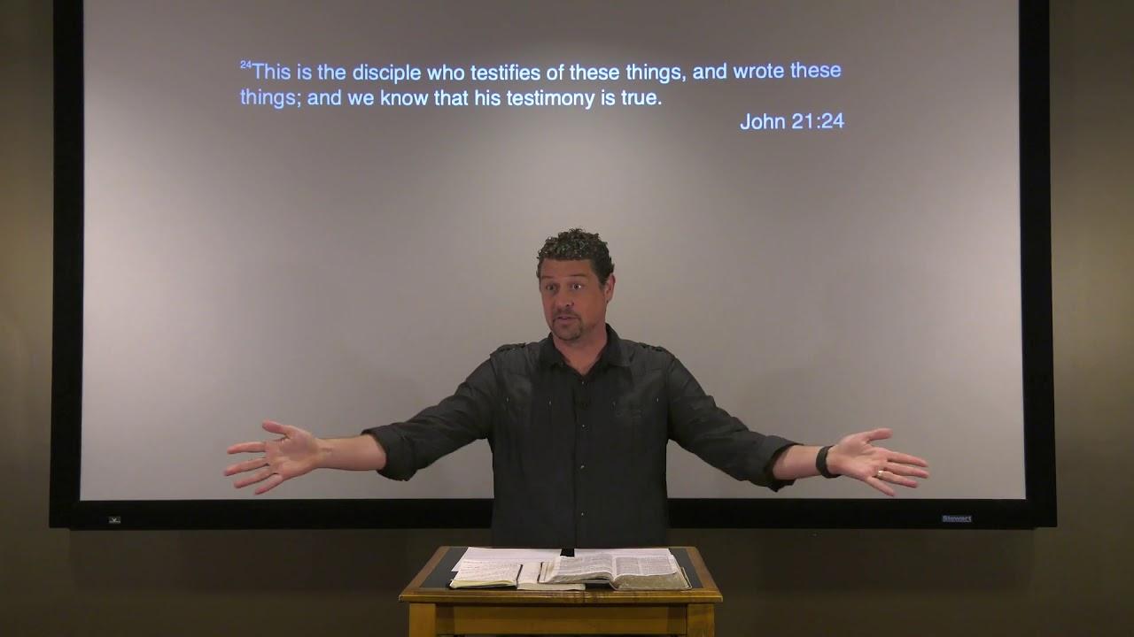 Studies in John - #133: Peter Goes Fishing