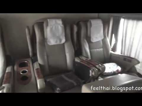 รีวิวรถเฟิร์ทคลาสอุดร-กรุงเทพ  นครชัยแอร์  Nakhonchai Air First class  bus Udon-Bangkok review