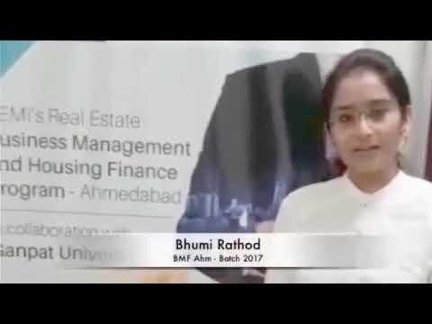 Real Estate Business Management & Housing Finance- Ahmedabad