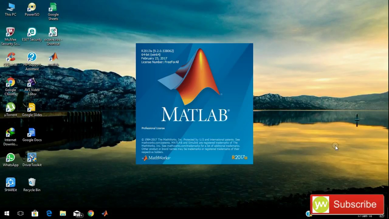 How to download and install MATLAB 2017 with crack [100% working] by your  world