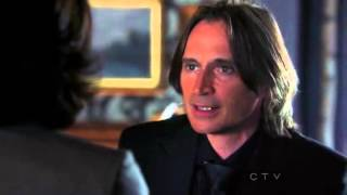"Once Upon A Time 2x02 ""We Are Both"" Rumple/Mr. Gold gives Regina Cora"
