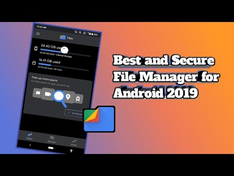 Best File Manager For Android || Files By Google || (2019)