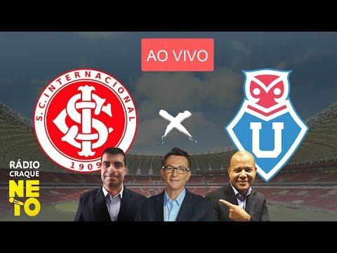 Internacional x Universidad do Chile com PRAETZEL | AO VIVO | Rádio Craque Neto - Libertadores