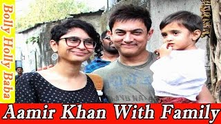 aamir khan   with family   wife   father   mother   son   daughter   movies   songs   pk movie