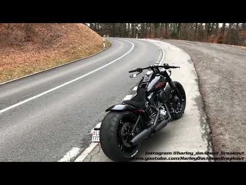 Harley Davidson Breakout First Engine Start after 3 Months