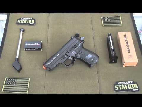 Sig Sauer P229 GBB Airsoft Pistol By KJW