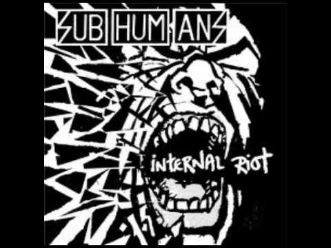 Subhumans - Never-Ending war song