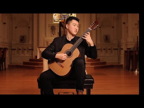 Tengyue Zhang - FULL CONCERT - CLASSICAL GUITAR - Live From St. Mark's, SF - Omni Foundation