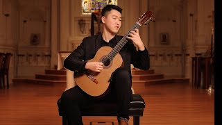 Tengyue Zhang  FULL CONCERT  CLASSICAL GUITAR  Live From St. Mark's, SF  Omni Foundation