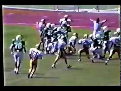 Edcouch-Elsa Yellow Jackets Football 1991 Highlights