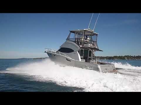 36 Aluminium Flybridge Cruiser