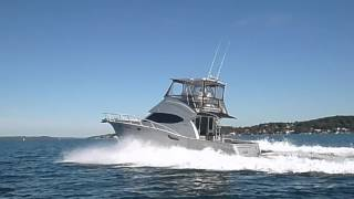 36 aluminium flybridge cruiser