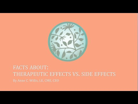 Therapeutic Effects vs Side Effects