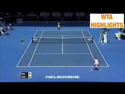 Serena Williams vs Maria Sharapova 2016 Australian Open QF