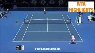 Serena Williams vs Maria Sharapova 2016 Australian Open QF