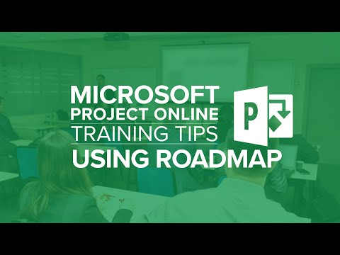 Using Roadmap With Microsoft Project Online And Microsoft Project Server