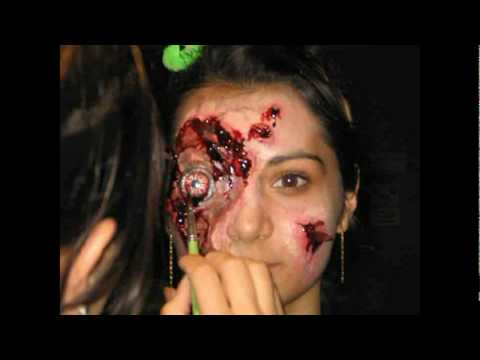 Laura Laciniati Special Effects Makeup Artist in Hollywood - YouTube