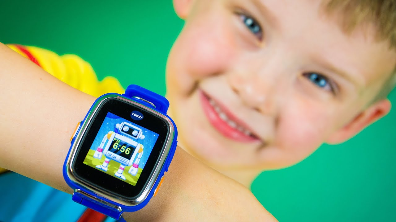 VTech Kidizoom Smart Watch DX Review by Kinder Playtime ...