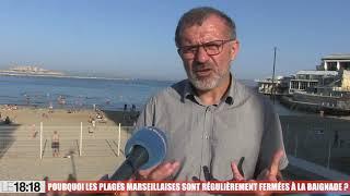 Le 18:18 : pourquoi les plages marseillaises sont régulièrement fermées à la baignade ?