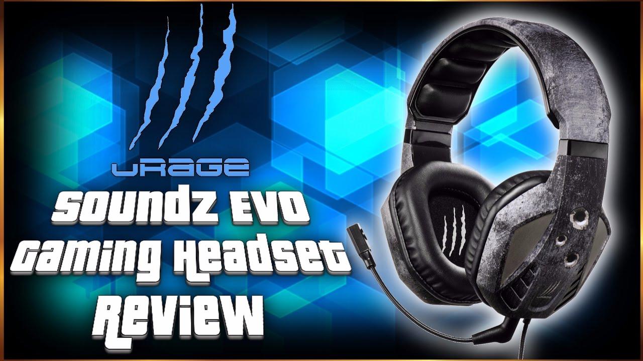 298abc59b43 Hama Urage SoundZ Evo Gaming Headset Review PC - YouTube