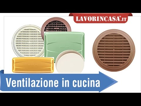 Fori di ventilazione per cucina youtube - Foro areazione cucina ...