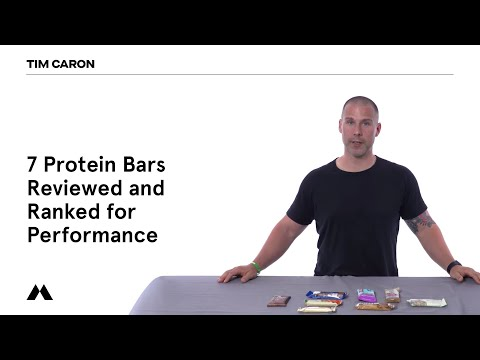 7 Protein Bars Reviewed and Ranked for Performance