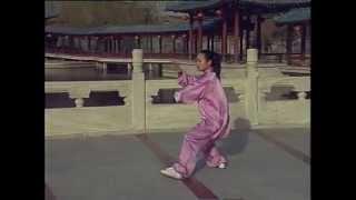 Китайская оздоровительная гимнастика Тайцзицюань/太极拳 (24 формы)